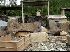 康锋工厂花岗岩大切加工