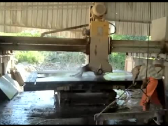 康锋石材厂博白县红外线加工石材视频