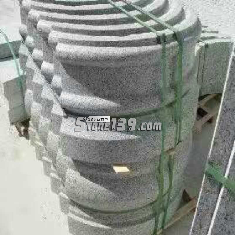 芝麻白 芝麻灰 弧形产品-- 河南泌阳县远诚石业