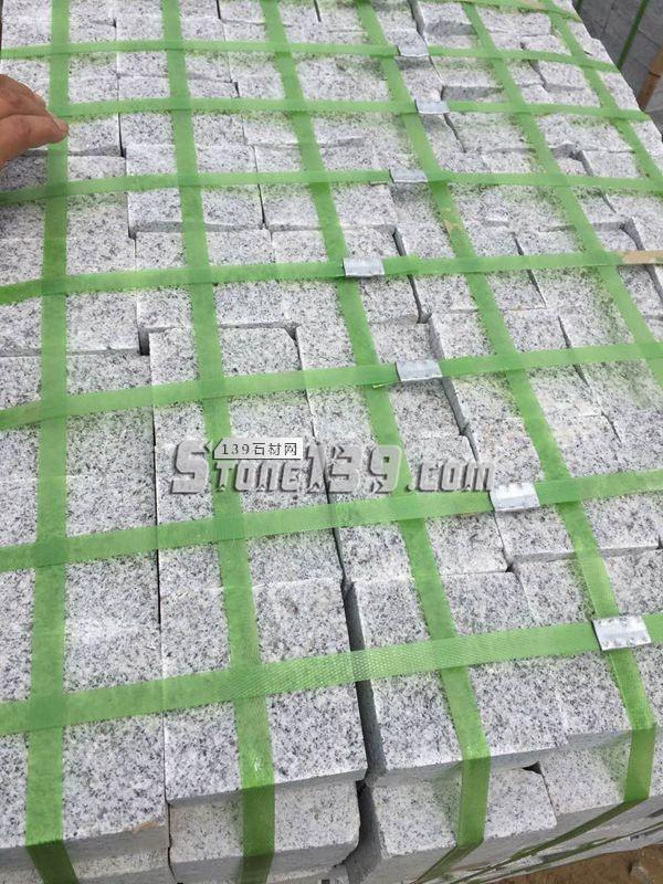 芝麻白 芝麻灰 小方块成品-- 河南泌阳县金泰石材有限公司