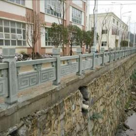 达州青石 青石 栏杆 护栏石
