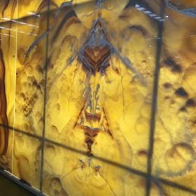 玉石背景墙 大理石电视背景墙