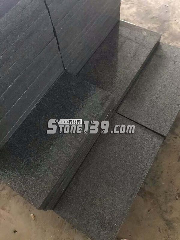 芝麻黑 G654 楼梯板 台阶石-- 长泰敏艺石材