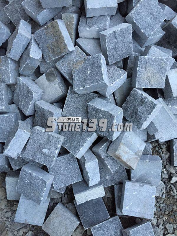 芝麻黑 G654 小方块-- 长泰敏艺石材