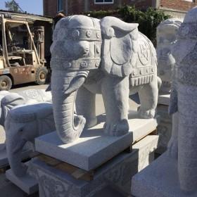 惠安石雕 石雕大象供应