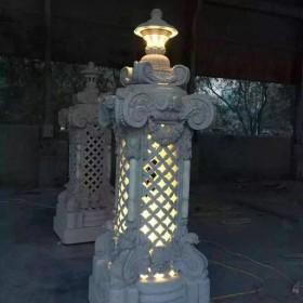 园林灯笼 仿古石雕灯笼