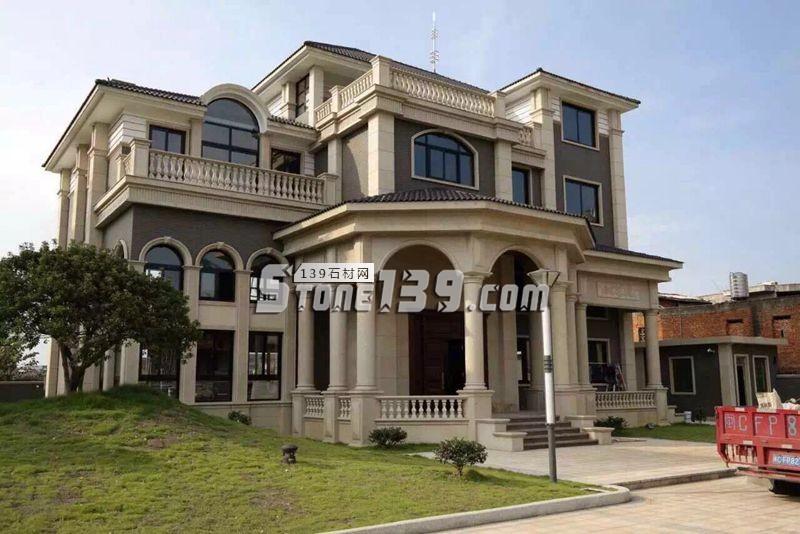 别墅石材 罗马柱装饰效果-- 泉州国豪石业有限公司