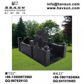 花岗岩中式墓碑