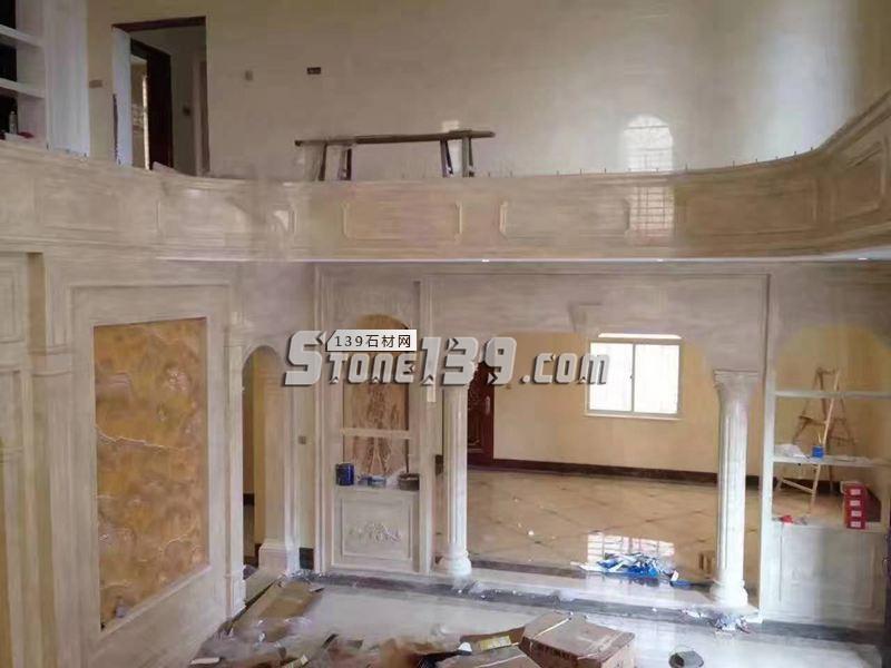 大理石背景墙 门套装饰-- 福建九龙石业有限公司