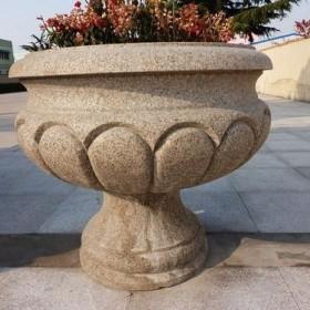 五莲红花钵 装饰花盆供应