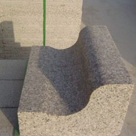 五莲红S型路沿石供货