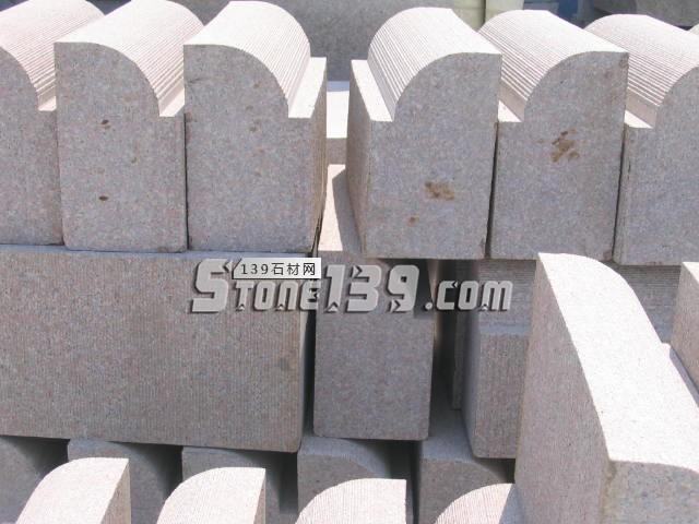 五莲红机丝面弯道石-- 超博石材有限公司