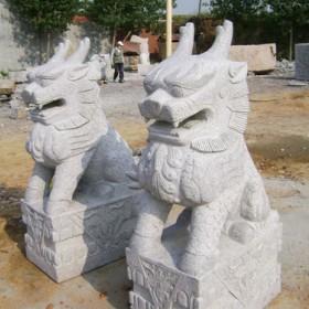 麒麟石雕 石材雕刻神兽