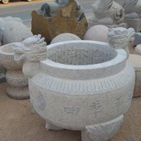 寺庙香炉供应 花岗岩雕刻