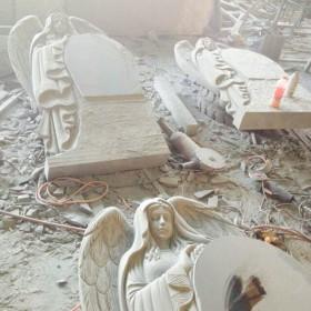 花岗岩天使墓碑 西式墓碑