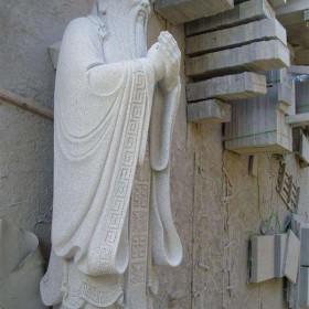 惠安雕刻 古代人物石雕