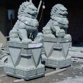 惠安石材雕刻 石狮子供应