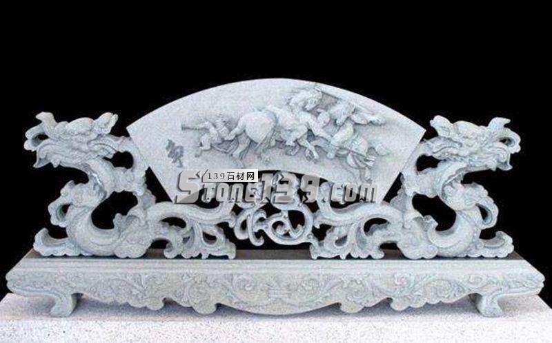 惠安石雕 龙图腾雕刻装饰产品-- 惠安海盛石刻