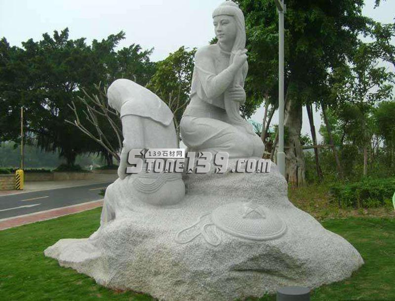 人物艺术雕刻 惠安石材雕刻-- 惠安海盛石刻