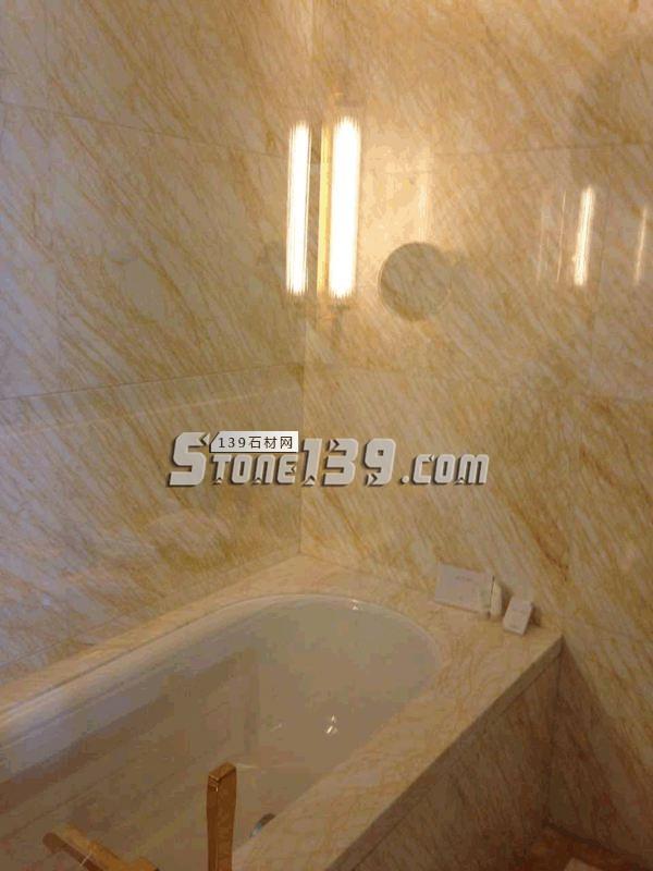 金蜘蛛浴室墙面 浴缸装饰