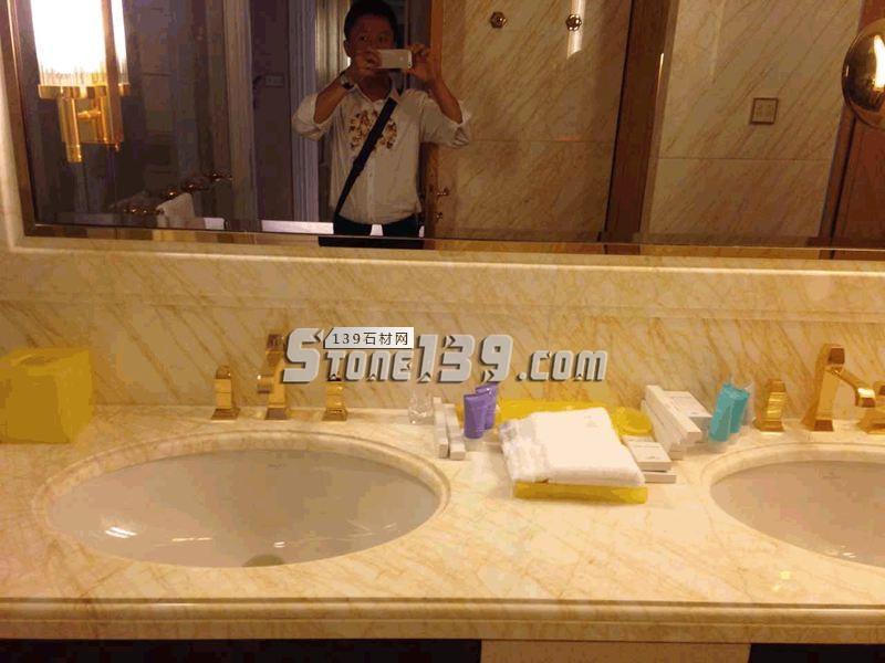 金蜘蛛台面板 洗手池 洗面台-- 臻磊石业