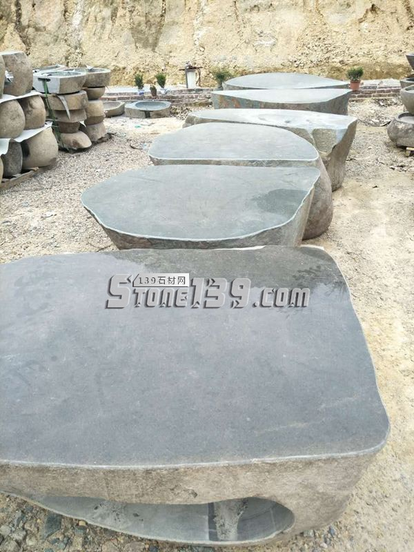 整石加工石桌成品-- 腾翔石趣石材加工厂