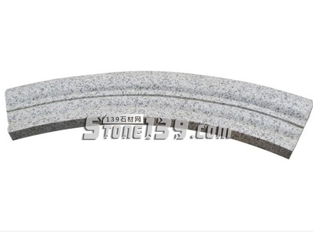 芝麻白弧形石材 异型加工-- 河南芝麻白厂家