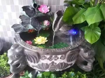 庭院石材雕刻装饰品 流水石材 (5)