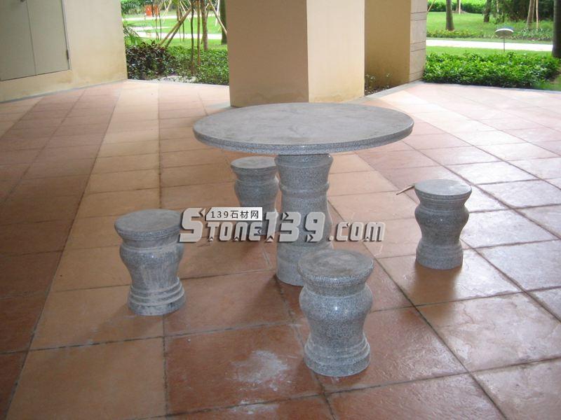 石桌椅 花岗岩石桌石凳-- 超南石业