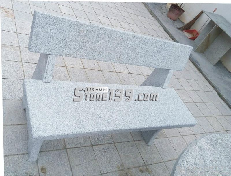 公园小区 靠背长椅长凳-- 超南石业