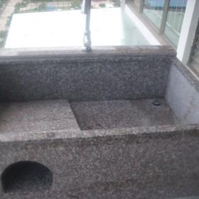 花岗岩洗衣池 石材家具