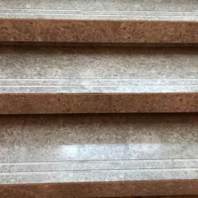灰玫瑰大理石楼梯板应用