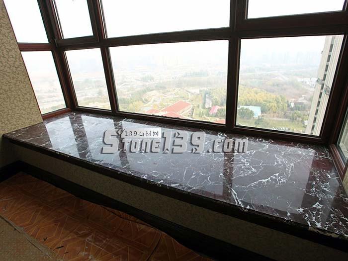紫罗红大理石台面板 飘窗-- 三侨建材