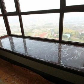 紫罗红大理石台面板 飘窗