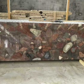 七彩石条板 毛光板供应