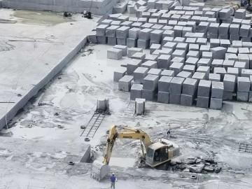 华城矿业五莲花岗岩矿山荒料开采