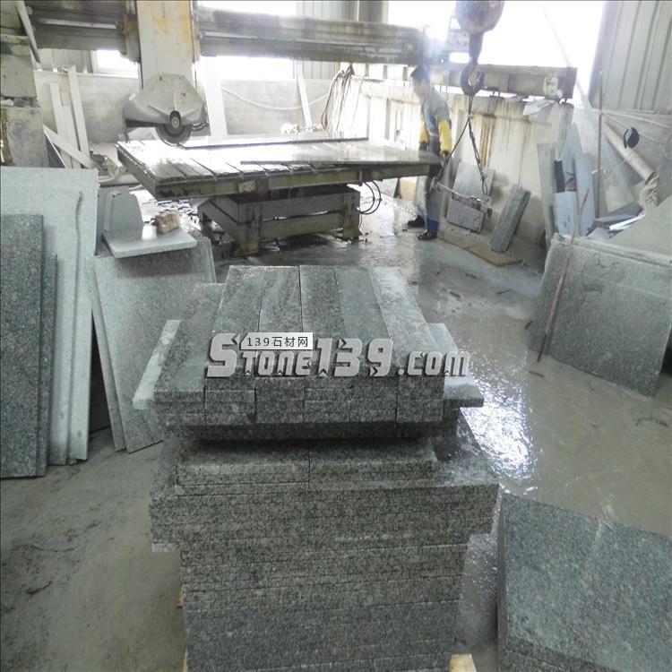 工程干挂石材 2.5公分成品 梨花白磨光面 可定制