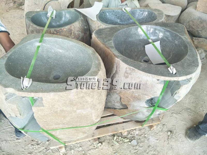 石材洗手盆洗手池成品供应-- 腾翔石趣石材加工厂