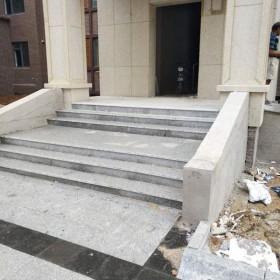 青山白台阶石 地铺板供应