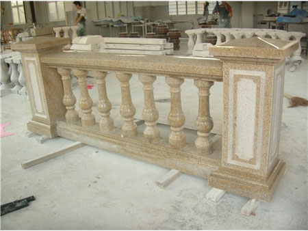 花岗岩栏杆成品配套供应-- 福建强盛石材(江西)有限公司
