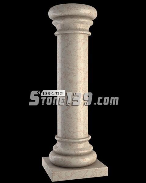 大理石圆柱配套供应-- 福建强盛石材(江西)有限公司
