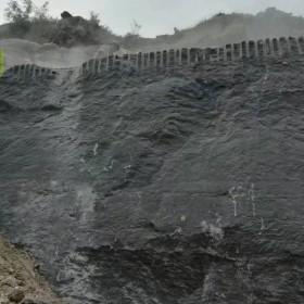 大量供应黑石灰石黑青石荒料及板材