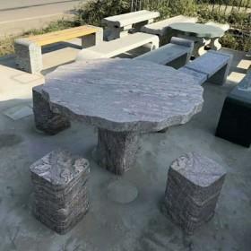 石雕桌子 石桌石凳现货促销 花岗岩长凳