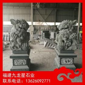 石雕狮子工厂报价 南方招财石狮子