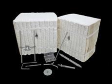金石高温供应陶瓷纤维模块 耐火棉