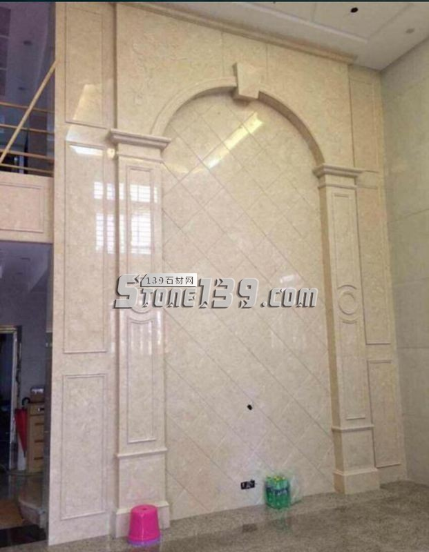 别墅石材背景墙 大理石背景墙