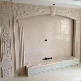 浮雕装饰大理石背景墙 石材背景墙