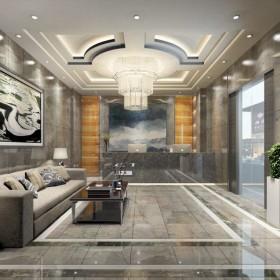 诺曼底灰大理石墙面 地面装饰案例效