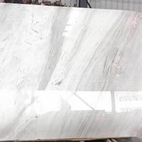 爵士白大板光面 水头白色大理石