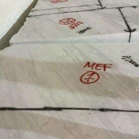 水头溪石大板市场爵士白 荒料MEF-7